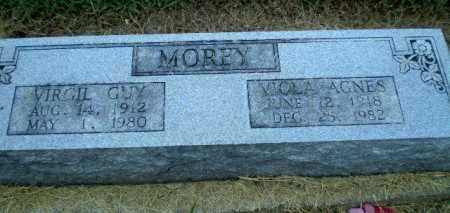 MOREY, VIOLA AGNES - Clay County, Arkansas | VIOLA AGNES MOREY - Arkansas Gravestone Photos