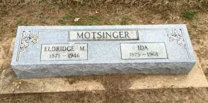 MOTSINGER, ELDRIDGE - Clay County, Arkansas | ELDRIDGE MOTSINGER - Arkansas Gravestone Photos