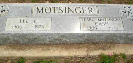 MOTSINGER, LEO - Clay County, Arkansas | LEO MOTSINGER - Arkansas Gravestone Photos