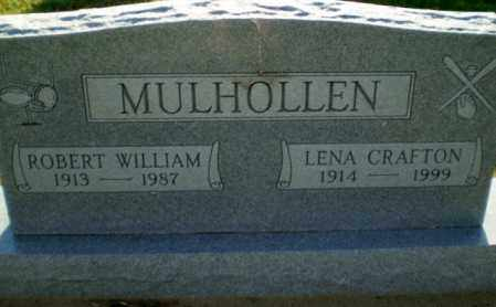 CRAFTON MULHOLLEN, LENA - Clay County, Arkansas | LENA CRAFTON MULHOLLEN - Arkansas Gravestone Photos