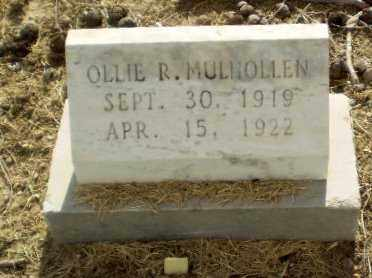 MULHOLLEN, OLLIE R - Clay County, Arkansas | OLLIE R MULHOLLEN - Arkansas Gravestone Photos