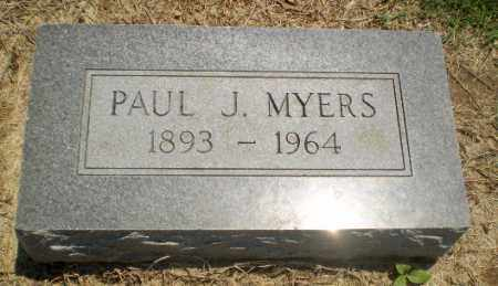 MYERS, PAUL J - Clay County, Arkansas | PAUL J MYERS - Arkansas Gravestone Photos