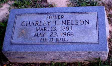 NELSON, CHARLEY L - Clay County, Arkansas | CHARLEY L NELSON - Arkansas Gravestone Photos
