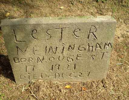 NEWINGHAM, LESTER - Clay County, Arkansas | LESTER NEWINGHAM - Arkansas Gravestone Photos