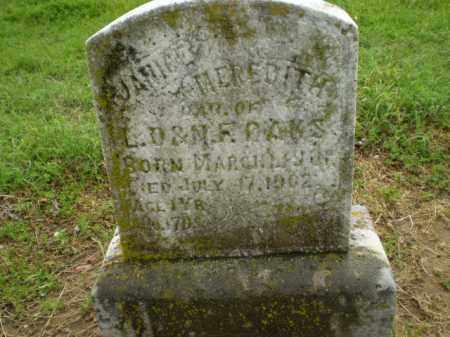 OAKS, JANICE MEREDITH - Clay County, Arkansas   JANICE MEREDITH OAKS - Arkansas Gravestone Photos