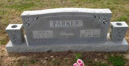 PARKER, ANDY A. - Clay County, Arkansas | ANDY A. PARKER - Arkansas Gravestone Photos