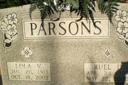 PARSONS, LOLA V - Clay County, Arkansas | LOLA V PARSONS - Arkansas Gravestone Photos