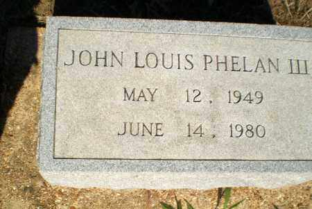 PHELAN, JOHN LOUIS - Clay County, Arkansas | JOHN LOUIS PHELAN - Arkansas Gravestone Photos