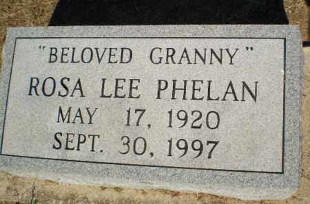 PHELAN, ROSA LEE - Clay County, Arkansas | ROSA LEE PHELAN - Arkansas Gravestone Photos