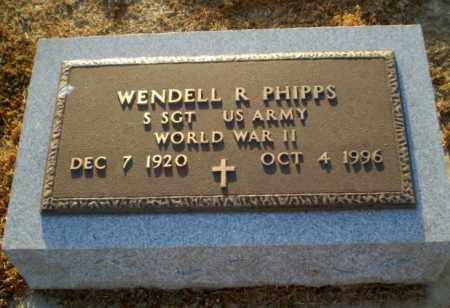 PHIPPS  (VETERAN WWII), WENDELL R - Clay County, Arkansas | WENDELL R PHIPPS  (VETERAN WWII) - Arkansas Gravestone Photos
