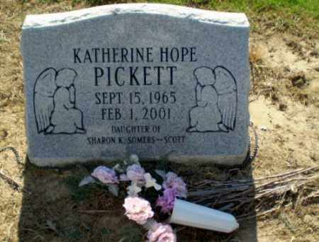 PICKETT, KATHERINE HOPE - Clay County, Arkansas | KATHERINE HOPE PICKETT - Arkansas Gravestone Photos