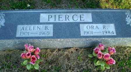PIERCE, ORA R - Clay County, Arkansas | ORA R PIERCE - Arkansas Gravestone Photos