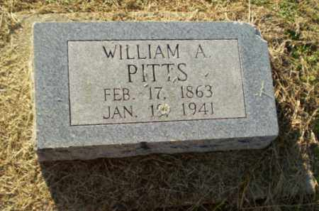 PITTS, WILLIAM A - Clay County, Arkansas | WILLIAM A PITTS - Arkansas Gravestone Photos