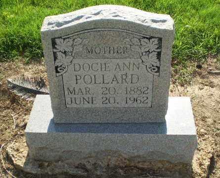 POLLARD, DOCIE ANN - Clay County, Arkansas | DOCIE ANN POLLARD - Arkansas Gravestone Photos