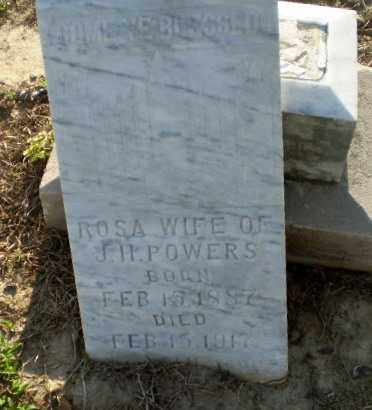 POWERS, ROSA - Clay County, Arkansas | ROSA POWERS - Arkansas Gravestone Photos