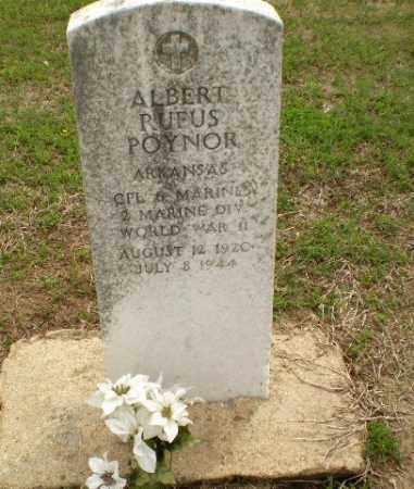 POYNOR  (VETERAN WWII), ALBERT RUFUS - Clay County, Arkansas | ALBERT RUFUS POYNOR  (VETERAN WWII) - Arkansas Gravestone Photos