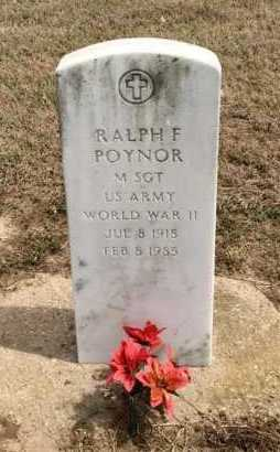 POYNOR (VETERAN WWII), RALPH F - Clay County, Arkansas | RALPH F POYNOR (VETERAN WWII) - Arkansas Gravestone Photos