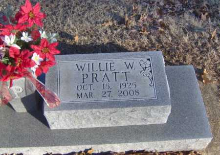 PRATT, WILLIE WALKER - Clay County, Arkansas | WILLIE WALKER PRATT - Arkansas Gravestone Photos