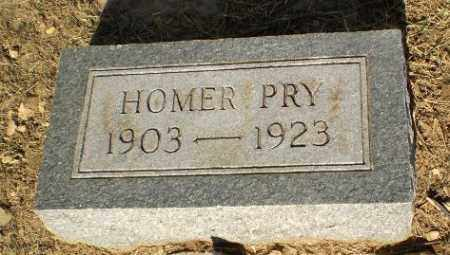 PRY, HOMER - Clay County, Arkansas | HOMER PRY - Arkansas Gravestone Photos