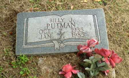 PUTNAM, BILLY J - Clay County, Arkansas | BILLY J PUTNAM - Arkansas Gravestone Photos