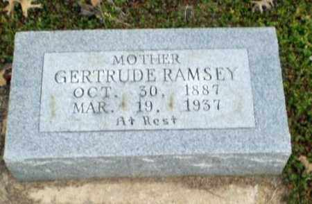 RAMSEY, GERTRUDE - Clay County, Arkansas | GERTRUDE RAMSEY - Arkansas Gravestone Photos