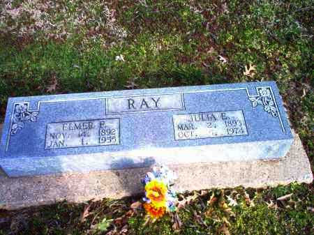 RAY, ELMER - Clay County, Arkansas | ELMER RAY - Arkansas Gravestone Photos