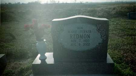 TURNER REDMON, MARIE - Clay County, Arkansas | MARIE TURNER REDMON - Arkansas Gravestone Photos