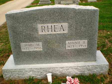 RHEA, MINNIE - Clay County, Arkansas | MINNIE RHEA - Arkansas Gravestone Photos