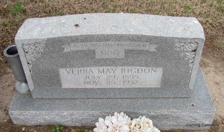 RIGDON, VERBA MAY - Clay County, Arkansas | VERBA MAY RIGDON - Arkansas Gravestone Photos