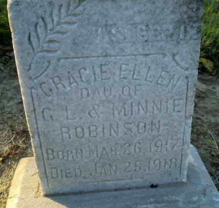ROBINSON, GRACIE ELLEN - Clay County, Arkansas | GRACIE ELLEN ROBINSON - Arkansas Gravestone Photos