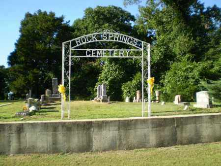 *ROCK SPRINGS CEMETERY, SIGN - Clay County, Arkansas | SIGN *ROCK SPRINGS CEMETERY - Arkansas Gravestone Photos