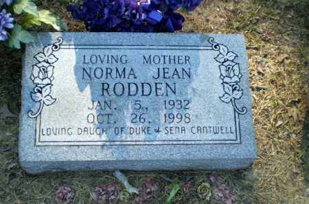 RODDEN, NORMA JEAN - Clay County, Arkansas | NORMA JEAN RODDEN - Arkansas Gravestone Photos