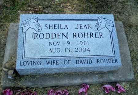 RODDEN ROHRER, SHEILA JEAN - Clay County, Arkansas | SHEILA JEAN RODDEN ROHRER - Arkansas Gravestone Photos