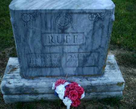 RUFF, REDMAN R - Clay County, Arkansas | REDMAN R RUFF - Arkansas Gravestone Photos