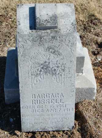 RUSSELL, BARBARA - Clay County, Arkansas | BARBARA RUSSELL - Arkansas Gravestone Photos