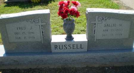 RUSSELL, FRED J - Clay County, Arkansas | FRED J RUSSELL - Arkansas Gravestone Photos
