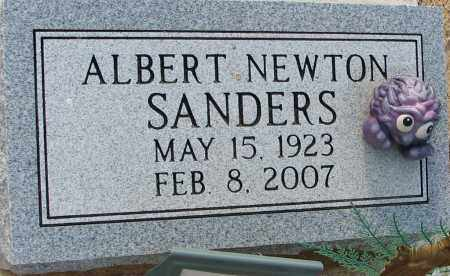 SANDERS, ALBERT NEWTON - Clay County, Arkansas | ALBERT NEWTON SANDERS - Arkansas Gravestone Photos