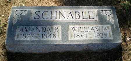 SCHNABLE, AMANDA P - Clay County, Arkansas | AMANDA P SCHNABLE - Arkansas Gravestone Photos