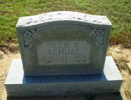 SCHULL, SUSIE E - Clay County, Arkansas | SUSIE E SCHULL - Arkansas Gravestone Photos