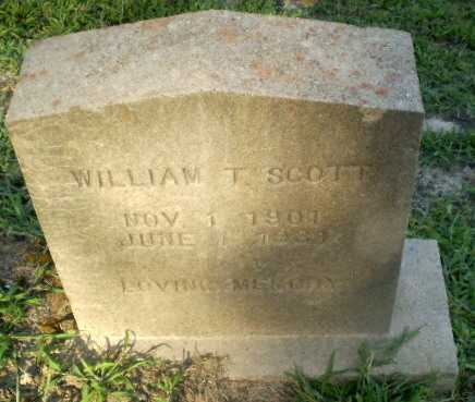 SCOTT, WILLIAM T - Clay County, Arkansas | WILLIAM T SCOTT - Arkansas Gravestone Photos