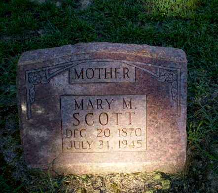 SCOTT, MARY M - Clay County, Arkansas | MARY M SCOTT - Arkansas Gravestone Photos
