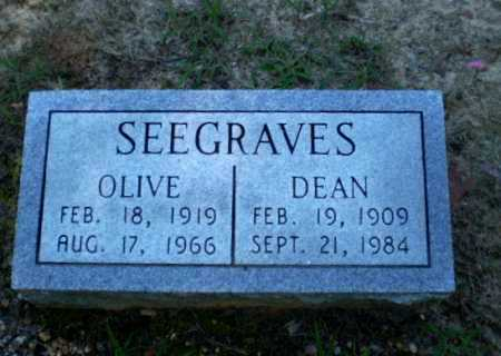 SEEGRAVES, DEAN - Clay County, Arkansas | DEAN SEEGRAVES - Arkansas Gravestone Photos