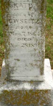 SEITZ, KATE - Clay County, Arkansas   KATE SEITZ - Arkansas Gravestone Photos
