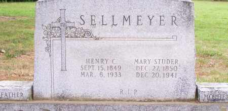 STUDER SELLMEYER, MARY - Clay County, Arkansas | MARY STUDER SELLMEYER - Arkansas Gravestone Photos