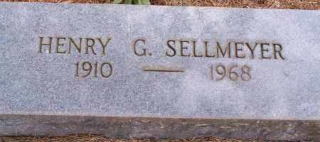 SELLMEYER, HENRY G. - Clay County, Arkansas | HENRY G. SELLMEYER - Arkansas Gravestone Photos