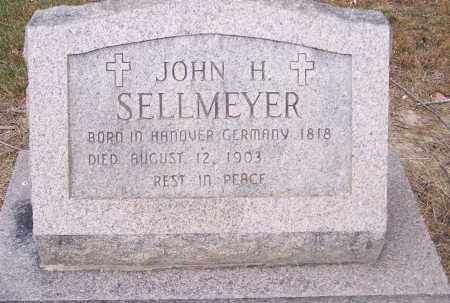 SELLMEYER, JOHN H - Clay County, Arkansas | JOHN H SELLMEYER - Arkansas Gravestone Photos