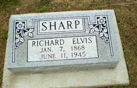 SHARP, RICHARD ELVIS - Clay County, Arkansas | RICHARD ELVIS SHARP - Arkansas Gravestone Photos