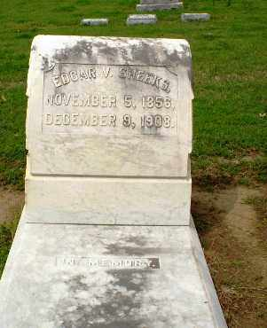 SHEEKS, EDGAR V. - Clay County, Arkansas | EDGAR V. SHEEKS - Arkansas Gravestone Photos