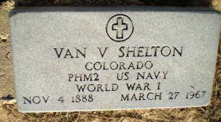 SHELTON (VETERAN WWI), VAN - Clay County, Arkansas | VAN SHELTON (VETERAN WWI) - Arkansas Gravestone Photos