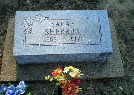 SHERRILL, SARAH - Clay County, Arkansas | SARAH SHERRILL - Arkansas Gravestone Photos